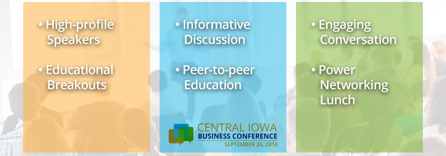 central iowa business conference event des moines iowa