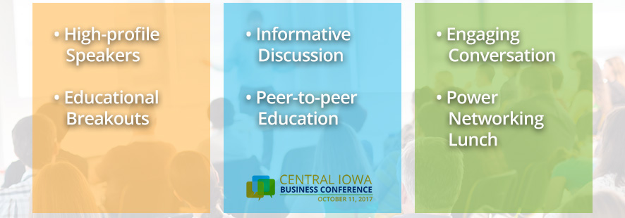 central iowa business conference des moines iowa