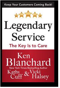 legendary service ken blanchard vicki halsey