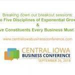 monte wyatt central iowa business conference video